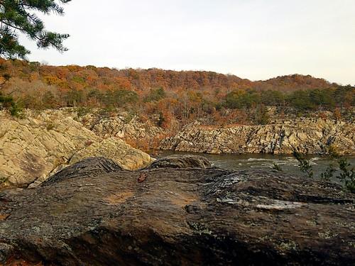 greatfallspark fairfaxcounty virginia photo digital autumn fall gorge hills canyon potomacriver autumncolors forest deciduousforest trees
