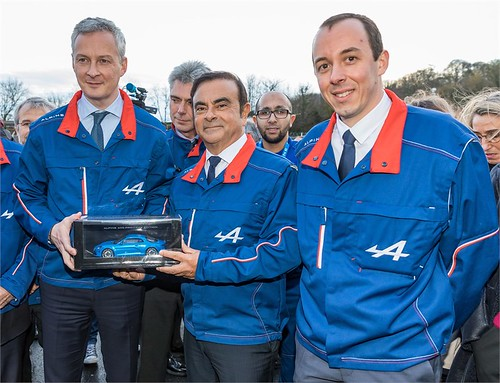 2017 - Inauguration de la ligne de production de l'Alpine A110 à l'usine de Dieppe | by Az online magazin