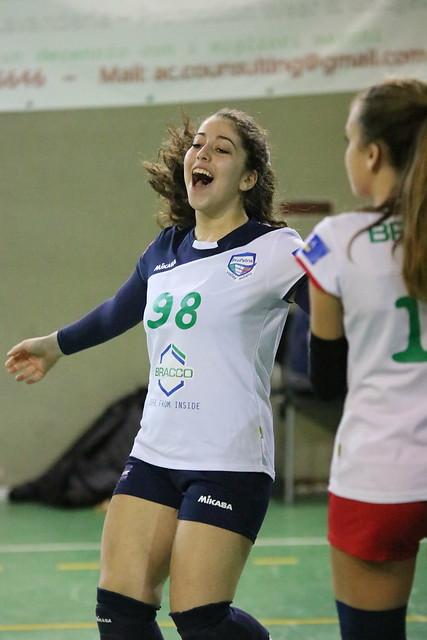U16 Bianca 27 Gennaio 2018 - Martesana Volley Cologno -  Bracco Pro Patria  0 - 3