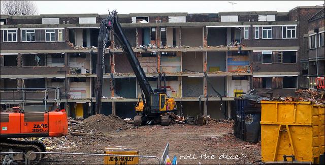 Bacton Low Rise Estate`Demolished