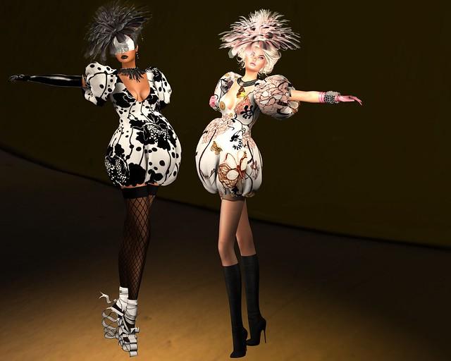 Fellini Couture Delice Gown