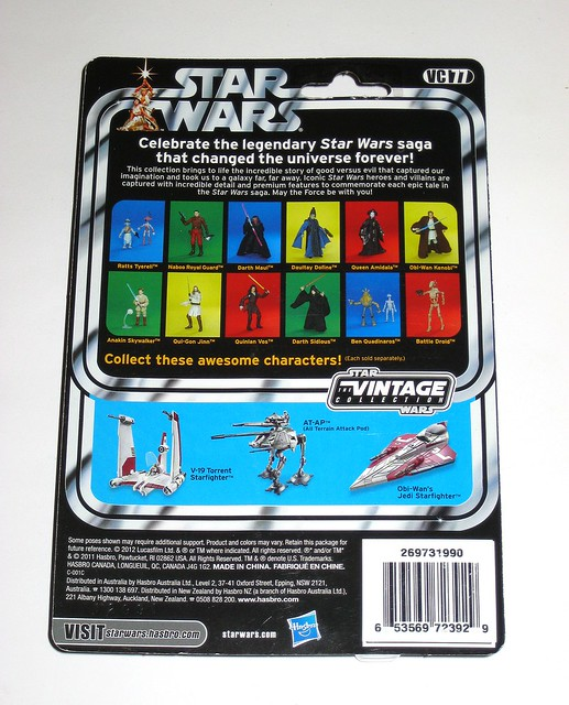 VC77 ratts tyerell and pit droid star wars the vintage collection the phantom menace basic action figures hasbro 2012 mosc b
