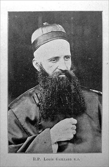 Le père jésuite L. Gaillard, astronome à l'Observatoire de Sheshan (Chine)