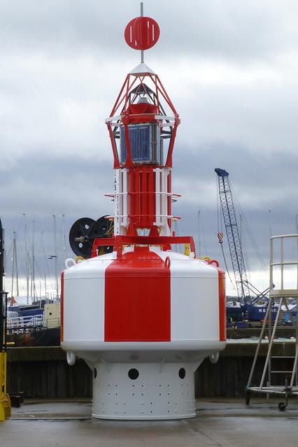 Navigation Buoy at Harwich.