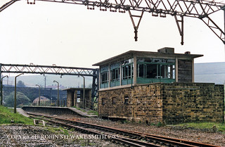 LNER/BR  Dunford Bridge Station & SB 18th May 1985