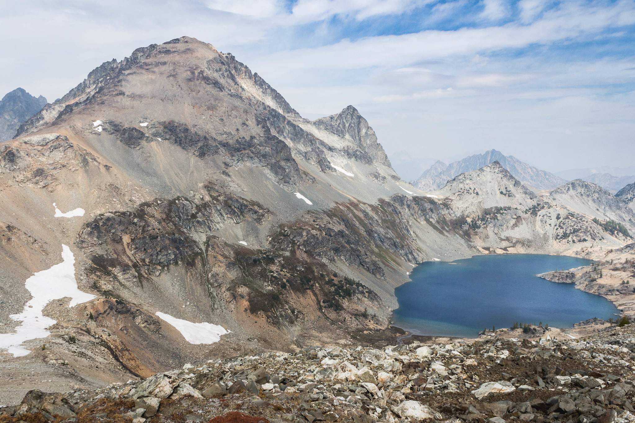 Mount Maude and Upper Ice Lake