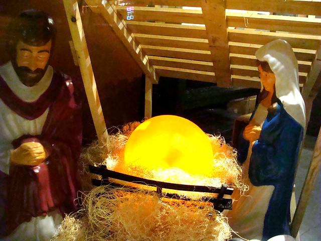 Cheese Nativity