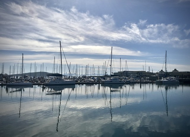 Masts in Point Richmond