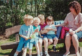 Meine Familie 1990