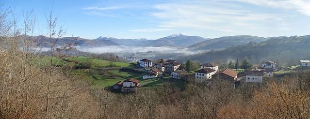 Mirador Valle de Baztan Navarra panoramica 01