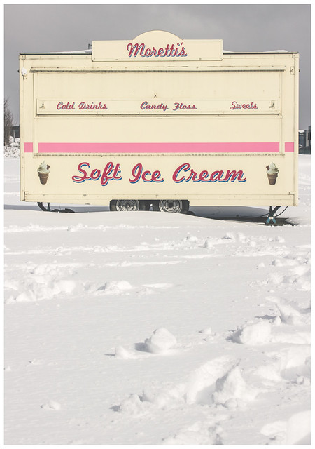 Ice Cream in the Snow, Glasgow
