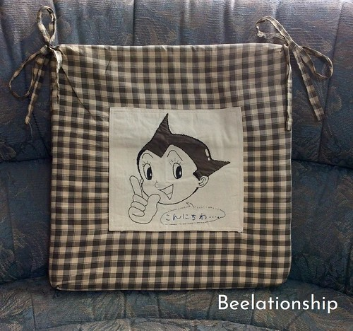3. Astro Boy Sitting Cushion | by Beelationship Embroidery Studio