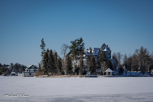 Cherry Island in Winter