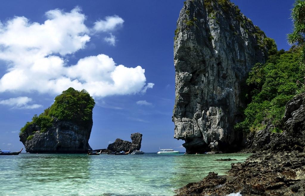 Nui Beach Koh Phi Phi Don Ko Phi Phi Don Thai เกาะพ พ Flickr
