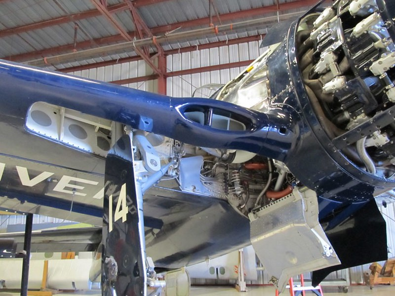 Grumman F8F-2 Bearcat 6