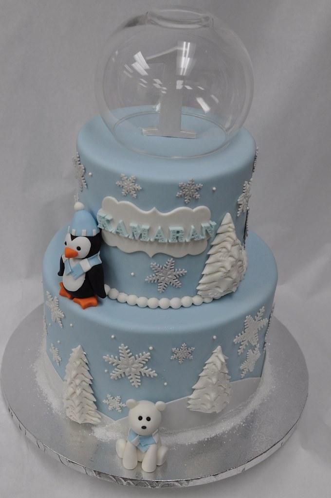 Winter wonderland birthday cake | Jenny Wenny | Flickr