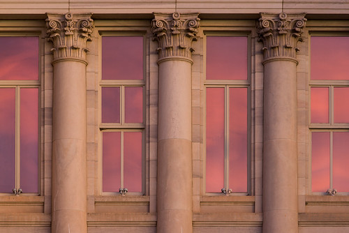explored explore sunrise morning reflection window pueblo colorado co goldenhour county courthouse nikond600 nikonafnikkor80200mmf28d