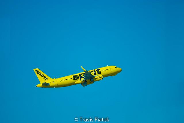 Spirit Airlines –  Airbus A320-232 N652NK @ Tampa International