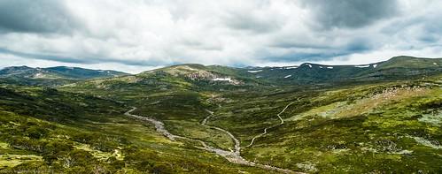 charlotte pass kosciuszko national park snowy mountains alpine region new south wales australia landscape