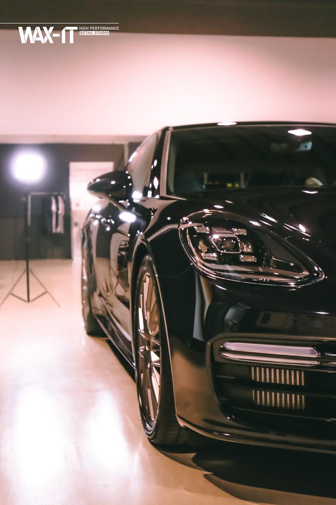 Porsche Panamera 4 E Hybrid Sport Turismo Jet Black Meta Flickr