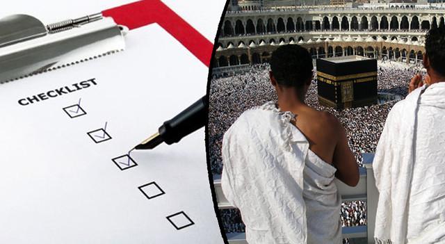 Hajj Checklist and Packing - Hajj Guide for Pilgrims