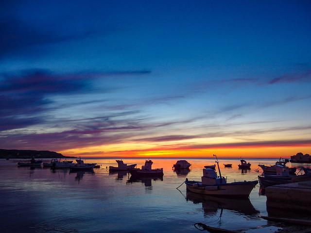 Sicily by night