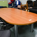 Large cherry boardroom table E370