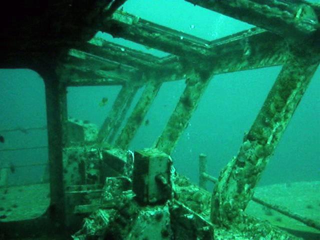 USS Oriskany Dive, July 2008 (2) | Interior of primary fligh