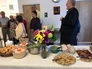 Buffet Table for Albu Luncheon | by Holy Spirit Orthodox Church