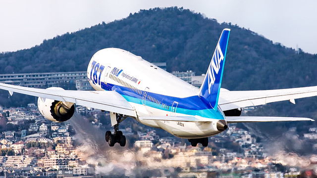 ANA - All Nippon Airways Boeing 787-8 Dreamliner JA821A