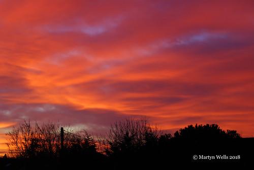 nikon d60 braintree braintreeessex essex landscape sunrise red silhouette clouds theamateursgroup morning wintersmorning winter unlimitedphotos