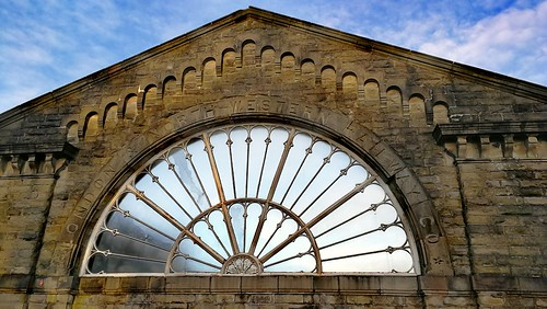 Fan window Buxton Station | by Ash_67