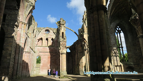 Melrose Abbey | by Lucia La Renarde