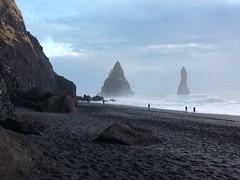 Reynisfjara black sand beach