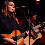 Tue, 05/12/2017 - 6:13am - Brandi Carlile and her band (the twins, plus drums and strings) play for lucky WFUV Marquee Members at Rockwood Music Hall in New York City, 12/5/18. Hosted by Rita Houston. Photo by Gus Philippas/WFUV.