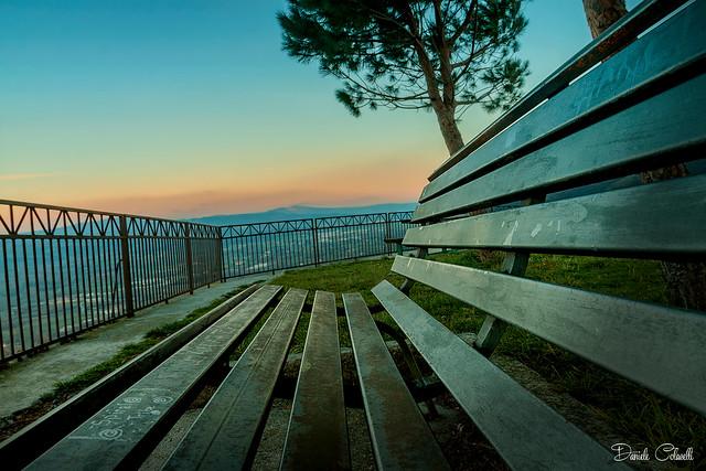 La pace al tramonto