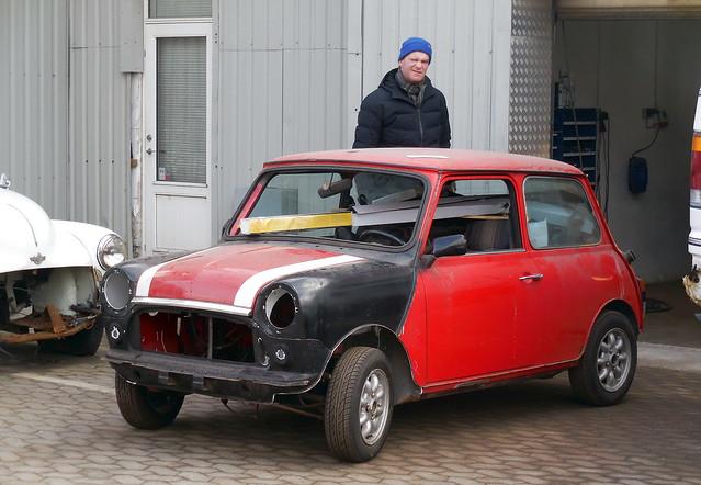 Classic car owner & 1989 Mini Cooper project