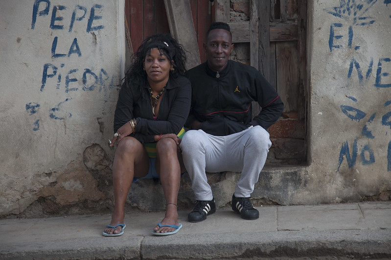 A handsome couple, Havana, Cuba