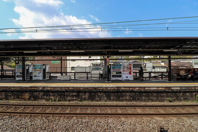 北鎌倉駅のホーム