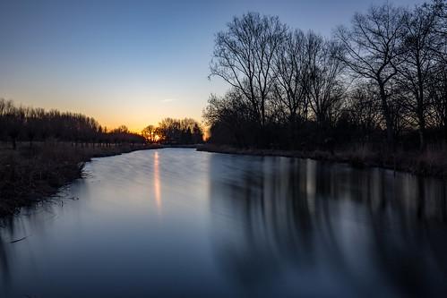 nederland netherlands nootdorp sunset zonsondergang longexposure le