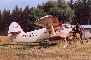 OK-GIB An-2 @ Kladno 15-09-1991