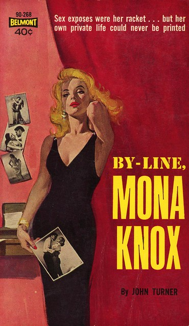Belmont Books 90-268 - John Turner - By-Line, Mona Knox