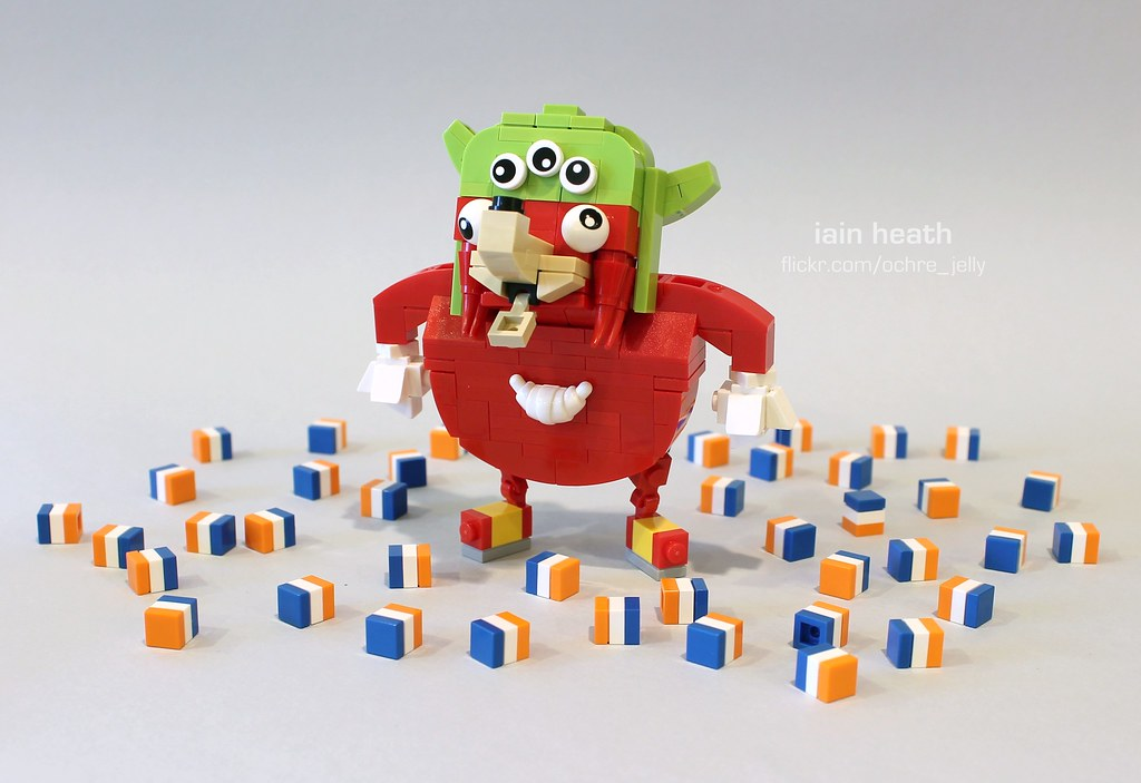 Month of memes: January 2018   LEGO mashup of this month's d