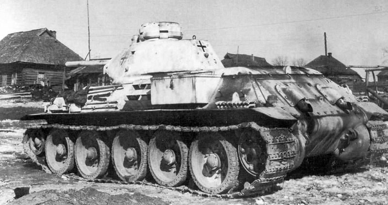 Captured T-34-76
