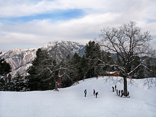 green spot winter ski nathiagali kalabagh pakistan mansoor goheer colour beautiful image view picture photo lovely place clouds slope blue walnut nathia gali hill station khyber pakhtunkhwa