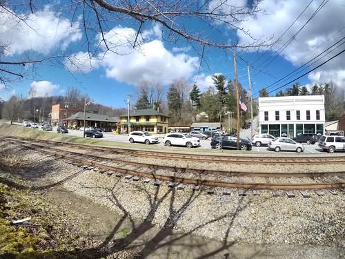 railroad northcarolina nc depot saluda
