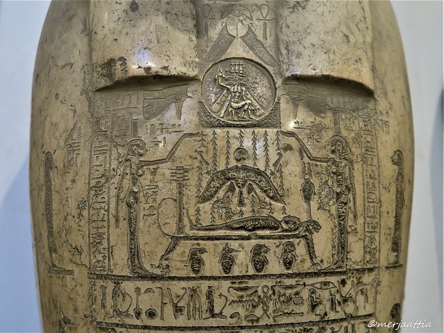 Detail of Sarcophagus of Djedher