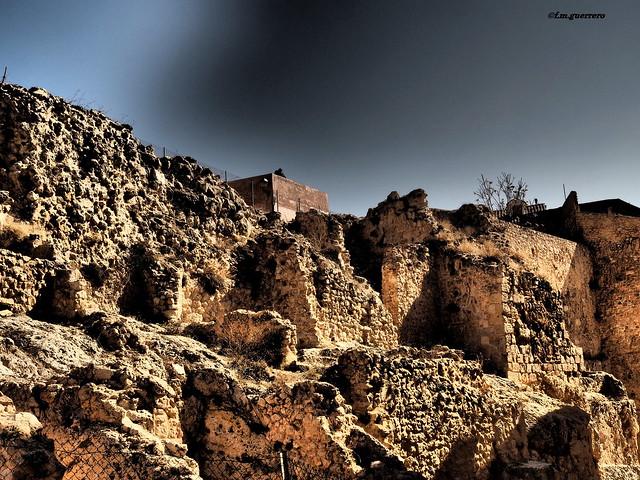 ruinas del barrio judio.