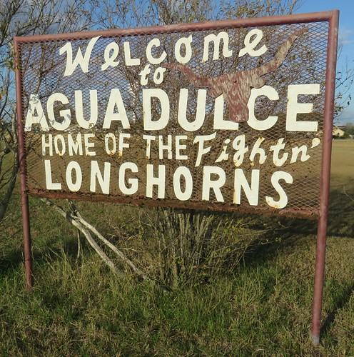 texas tx southtexas nuecescounty aguadulce citywelcomesigns northamerica unitedstates us