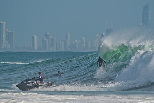 The surfing plumber - Currumbin | by noompty
